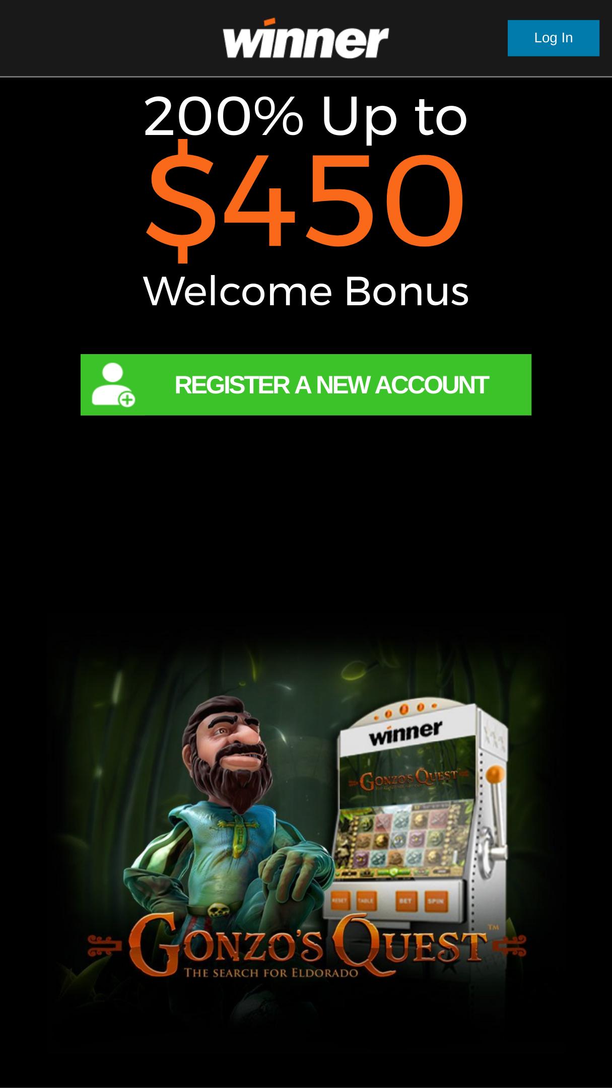 Winner Casino 30