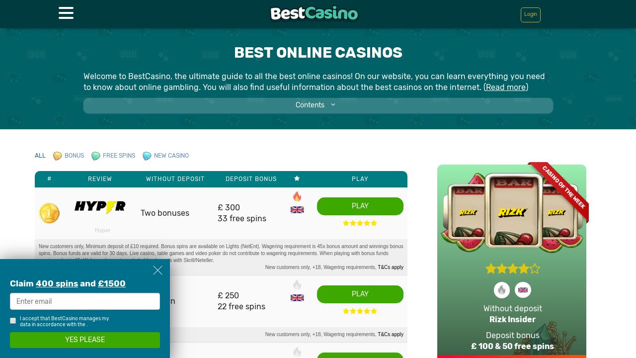 Best Casino Com